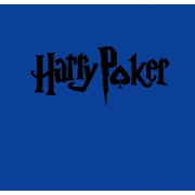 Harry poker BLACK Vneck